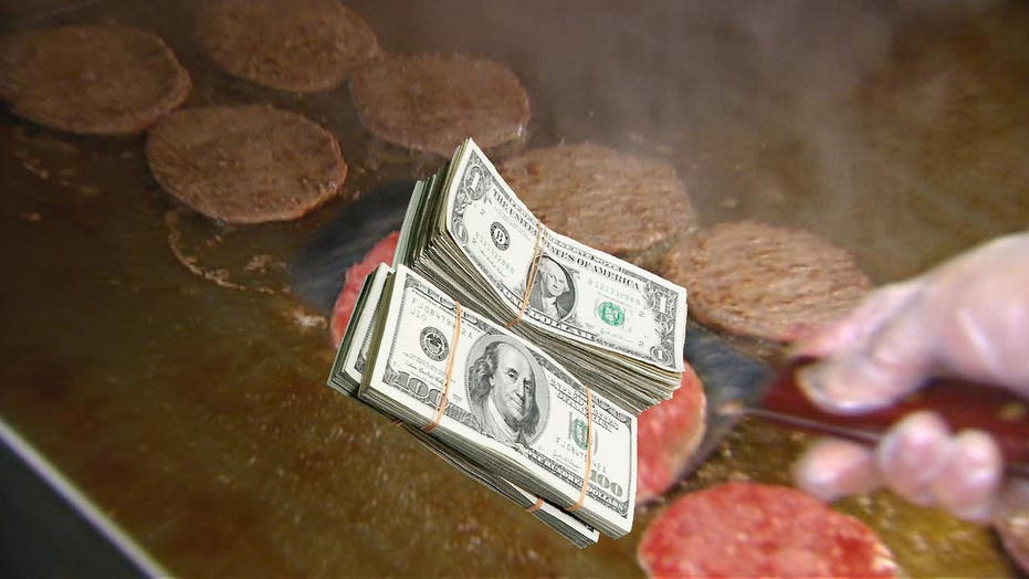 Grilling hamburgers won't grill your wallet as much