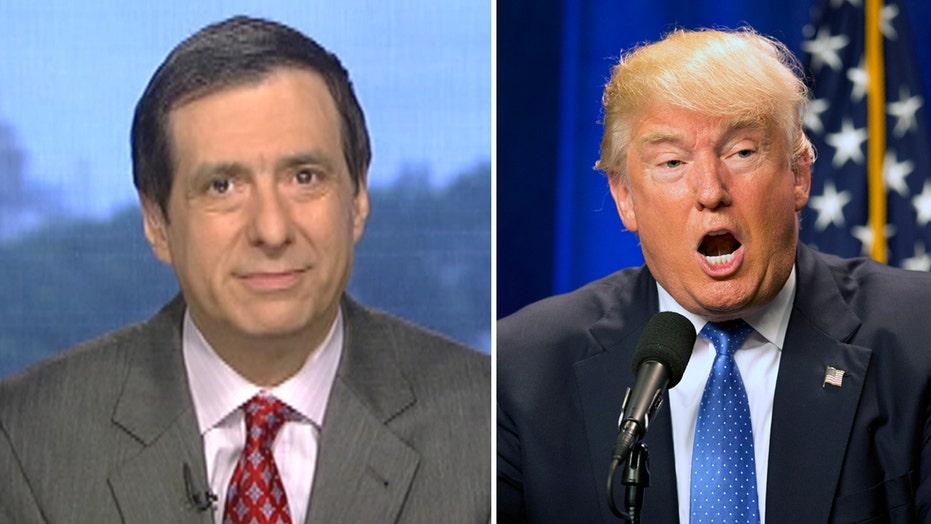 Kurtz: Media see Trump as train wreck