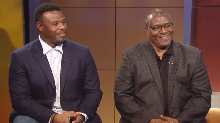 Ken Griffey Jr. and dad take a crack at prostate cancer
