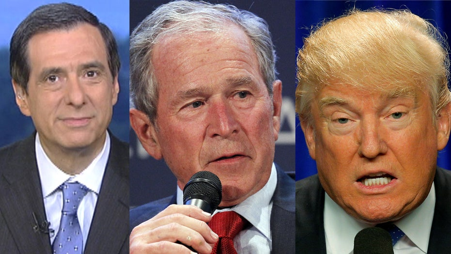 Kurtz: Bush vs Trump ... Again