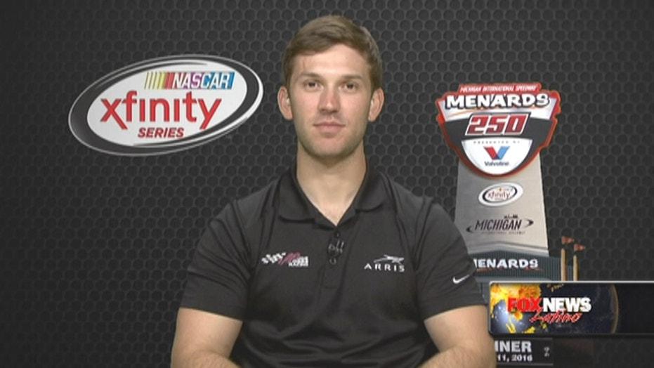 Daniel Suarez makes NASCAR history
