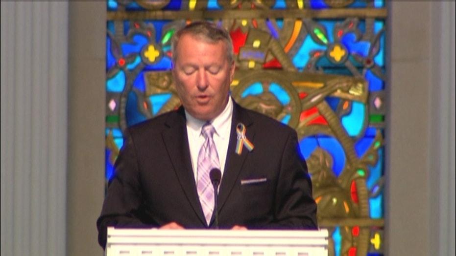 Orlando shooting: Mayor Buddy Dyer honors victim