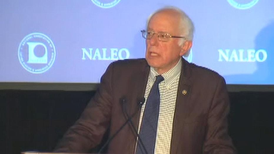Bernie Sanders addresses NALEO annual conference