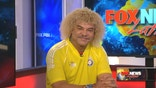 Colombian soccer legend, Carlos El Pibe Valderrama, he of the curly golden locks, talks Copa America, James Rodriguez and hair care with FNL.