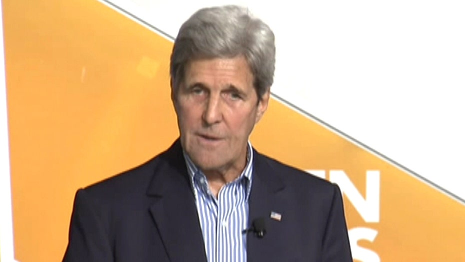 Kerry says ISIS targets airports because they're 'desperate'