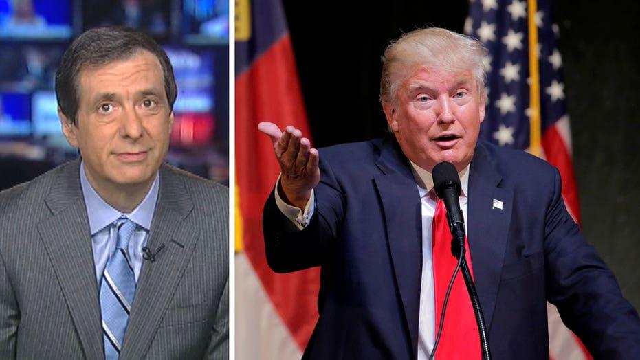 Kurtz: Is Donald Trump going off script?