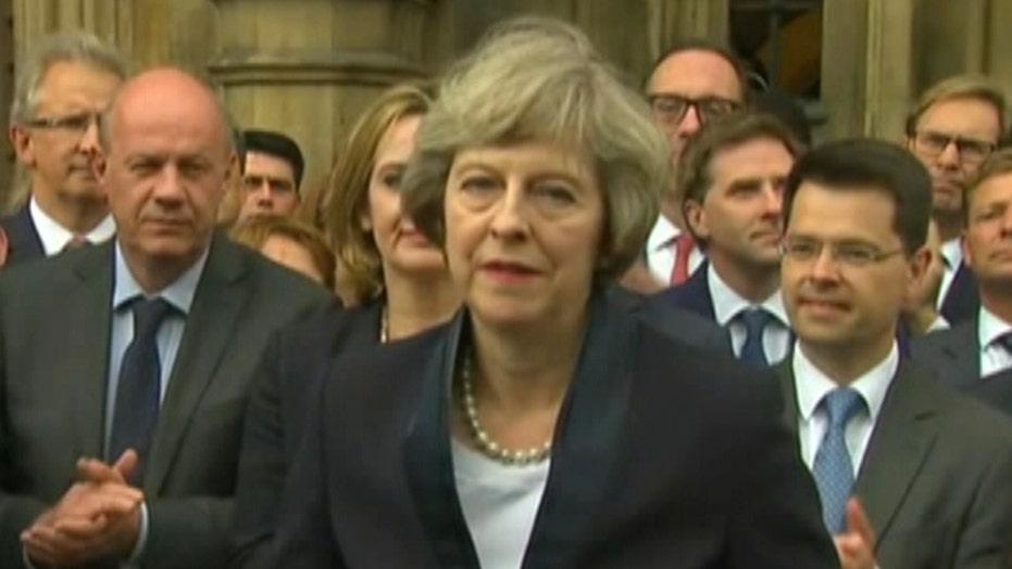Presumptive UK PM Theresa May 'honored and humbled'