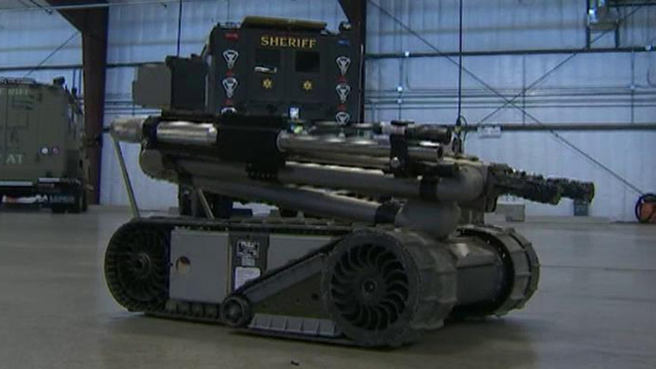 Is weaponization the future of police robots?