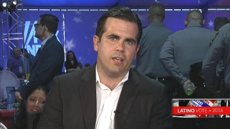 Puerto Rico's Ricardo Rossello argues against bailout