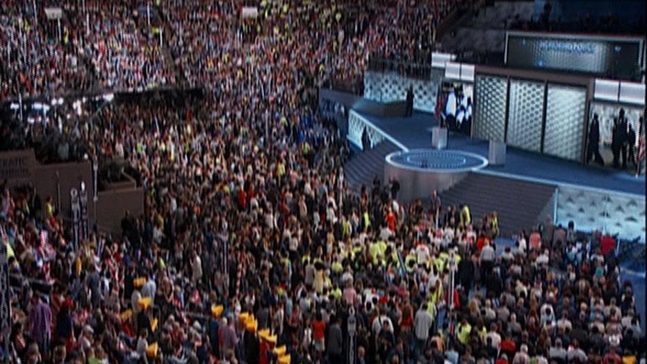 'Black Lives Matter' chant interrupts moment of silence
