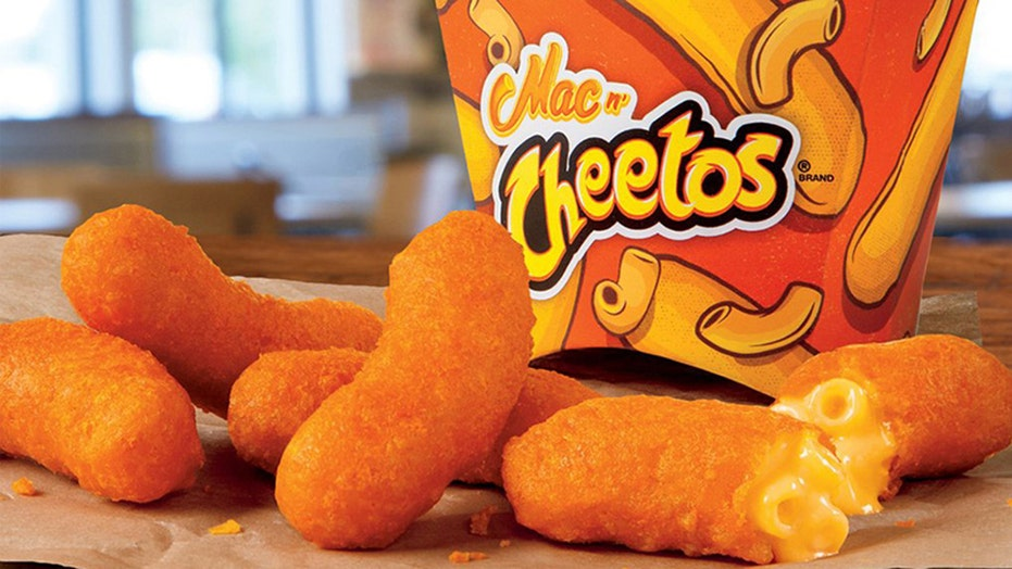 Chef claims Burger King stole his cheesy Cheetos idea