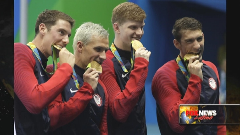 Ryan Lochte secures first medal in Rio