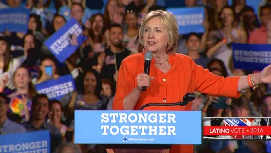 Clinton tries to tap the power of 'Dreamers'
