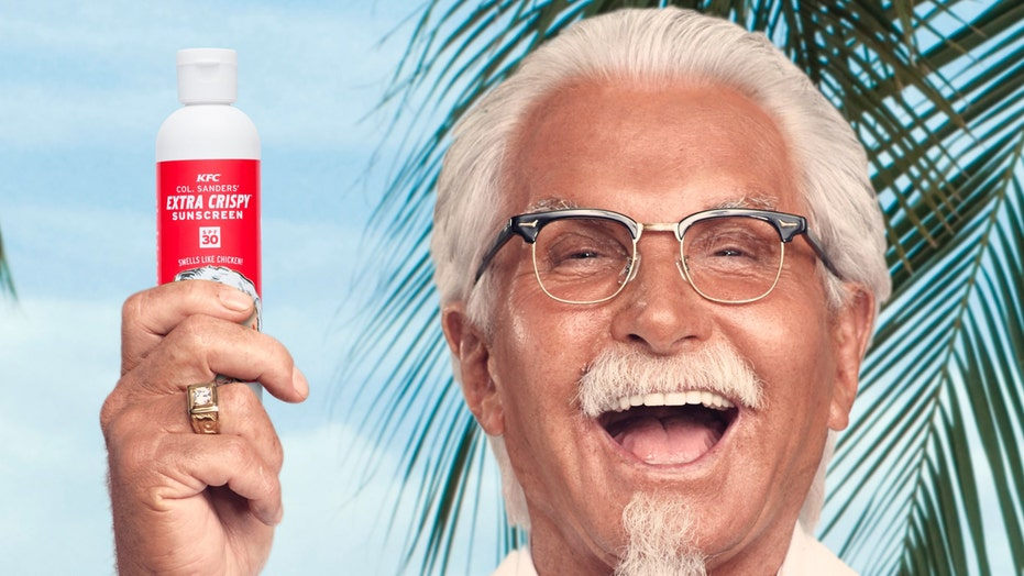 "KFC rolls out ""Extra Crispy"" fried chicken sunscreen"