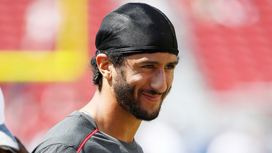 Is Colin Kaepernick's anthem protest out of bounds?