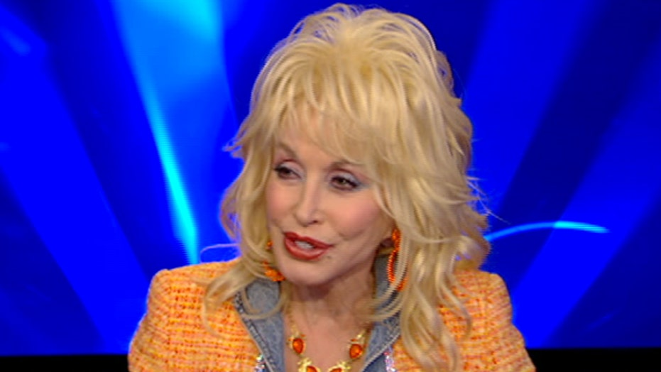 Dolly Parton shows no signs of slowing down