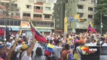 The streets of Caracas started to fill up with thousands of government opponents demanding a recall election for President Nicolas Maduro.