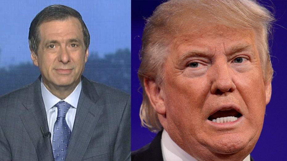 Kurtz: Trump's schizophrenic coverage