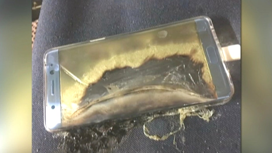 Faulty Samsung Galaxy Note7s ignite explosive flying fears