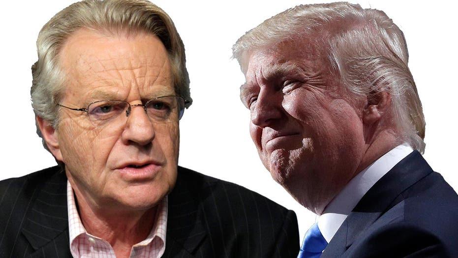 Jerry Springer: Trump belongs on my show