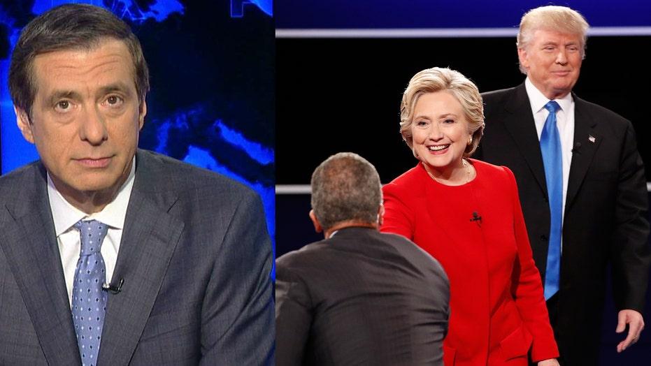 Kurtz: Clinton and Holt versus Trump