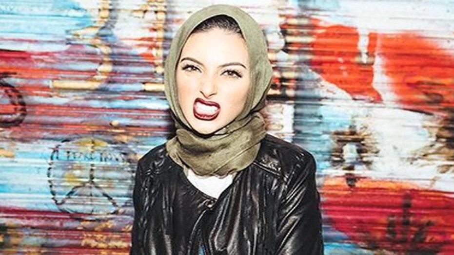 Playboy features female Muslim American wearing a Hijab