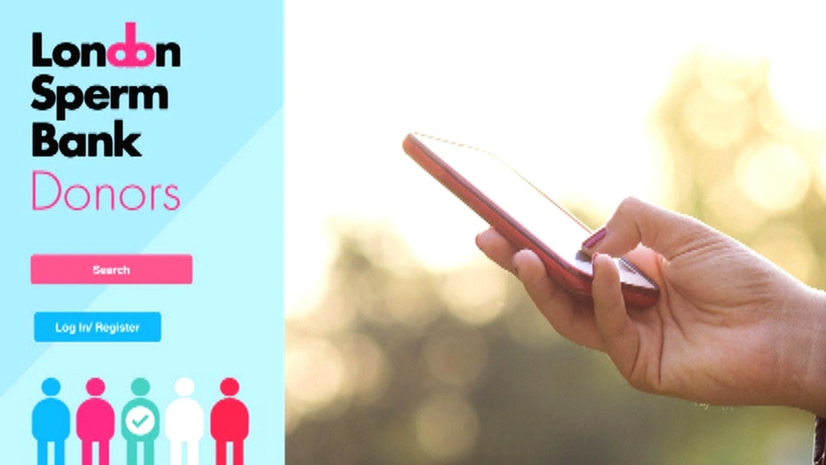 Swipe right for sperm with new Tinder-like app