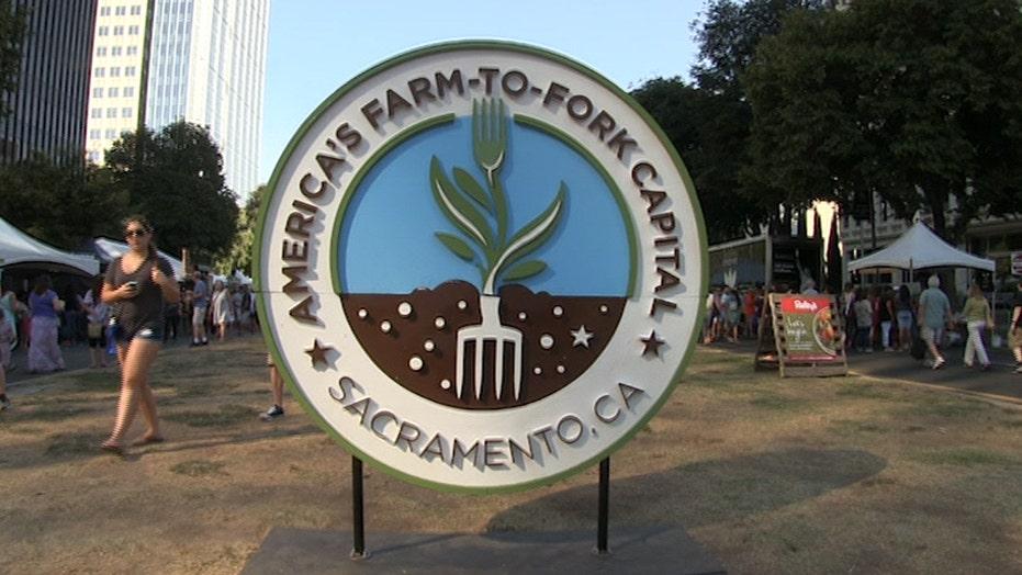 Farm-to-Fork foodies flock to California capital