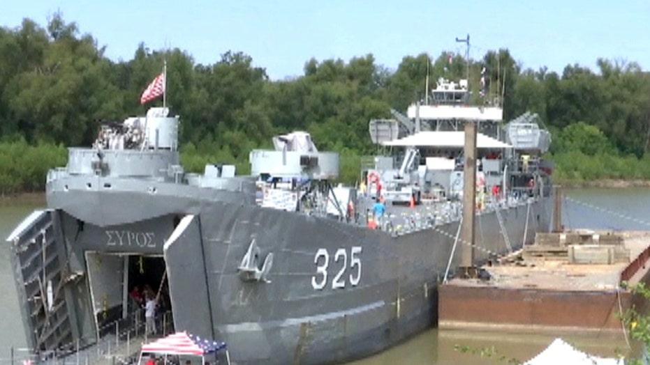 WWII vessel kept afloat by veterans
