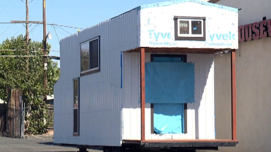 Homeowner's tiny house stolen