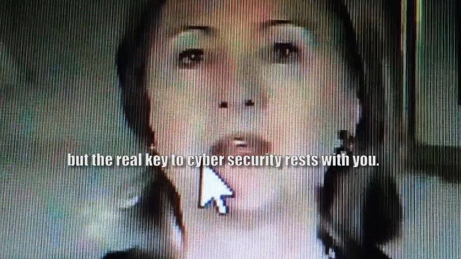 Clinton lectures State Department on cyber security