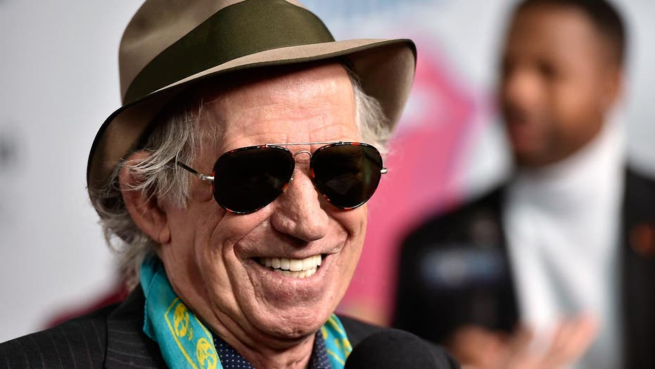 Keith Richards' advice to young rockers: 'Get a maid'