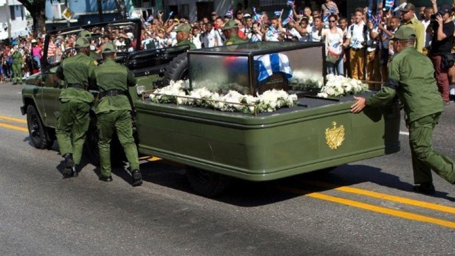 Fidel Castro buried in the city of Santiago