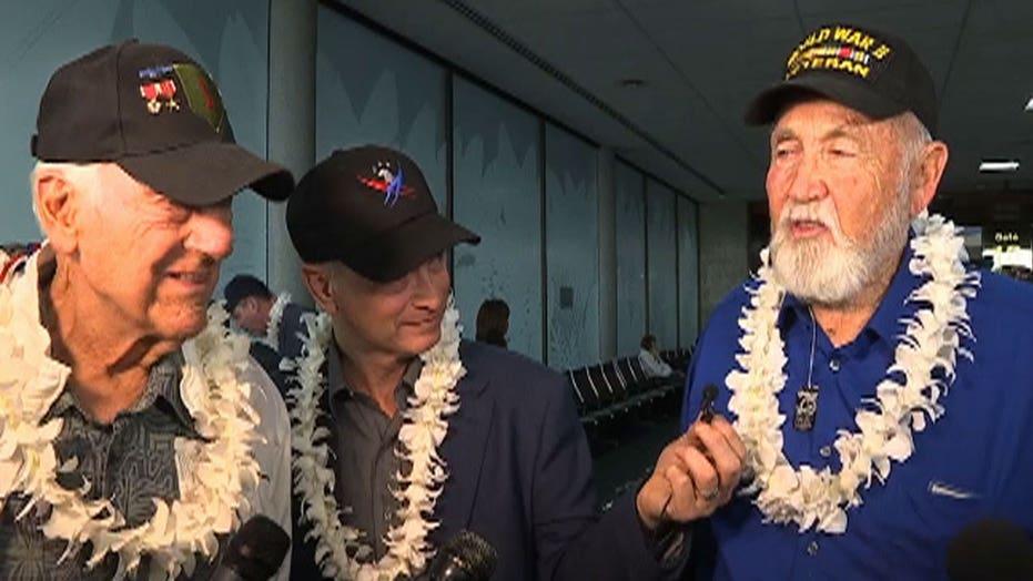 World War II veterans return to Pearl Harbor