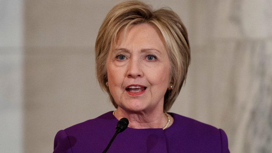 Hillary Clinton decries fake news 'epidemic' in speech