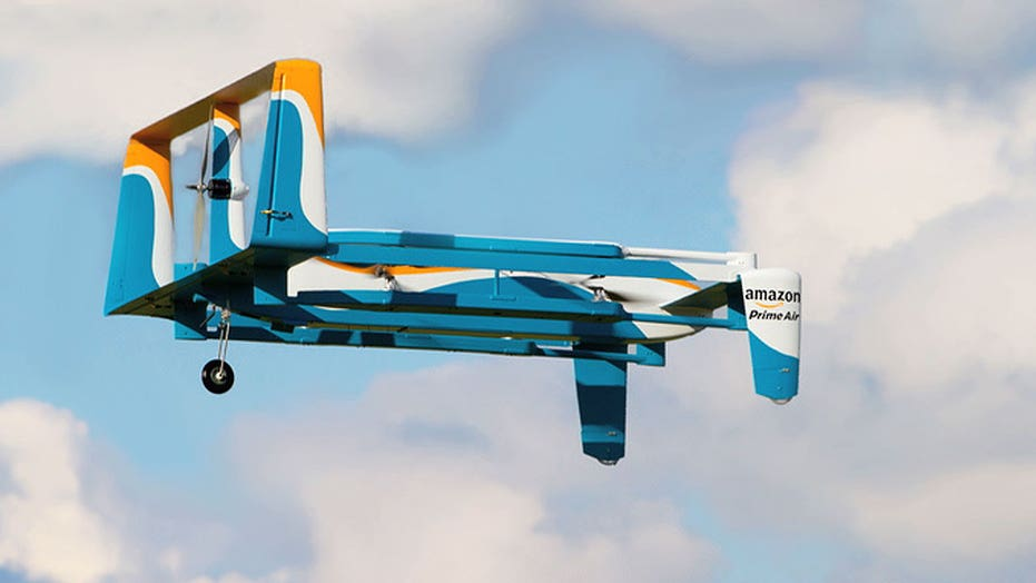 Amazon reveals first 'Prime Air' drone delivery
