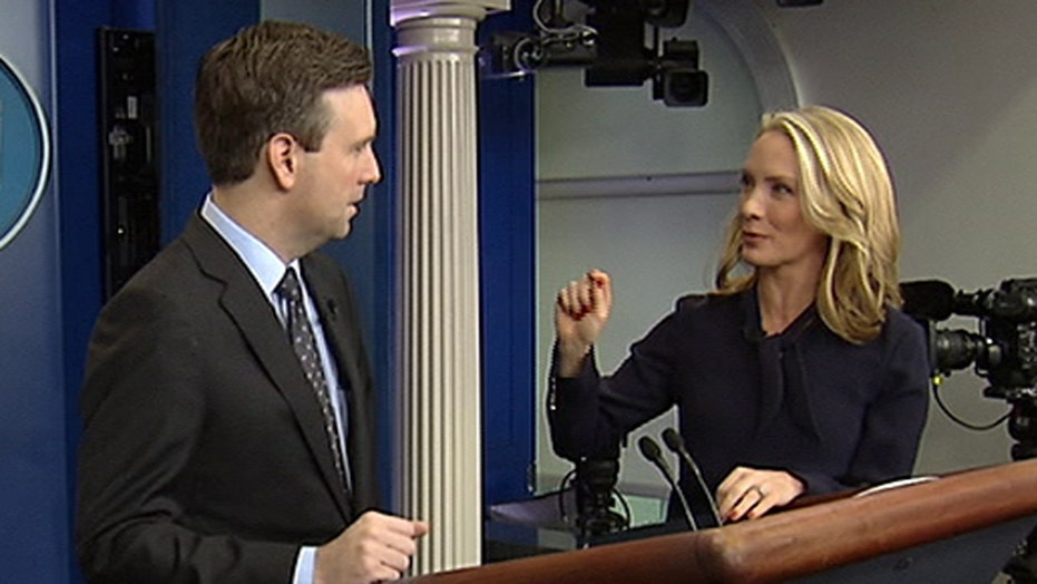 Dana Perino returns to the White House press briefing room