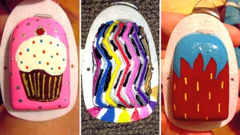 Mother adds splash of color to daughter's lifesaving device