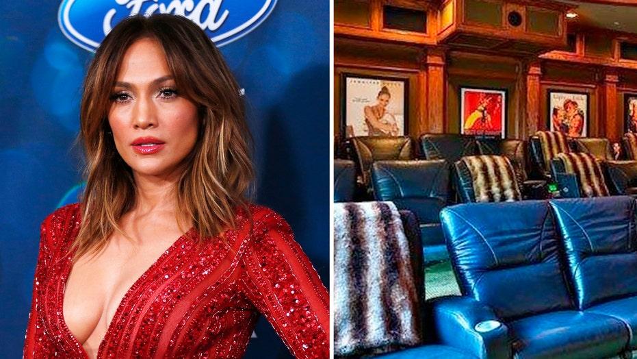 Jennifer Lopez's huge Hollywood mansion hits the market
