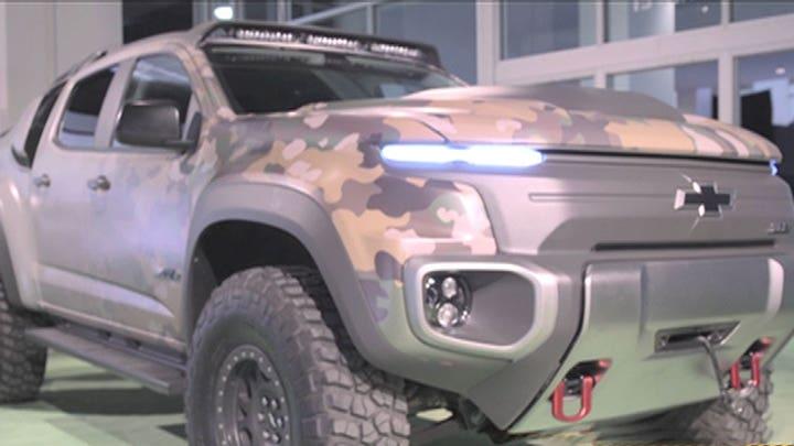Chevy's hydrogen-powered stealth truck