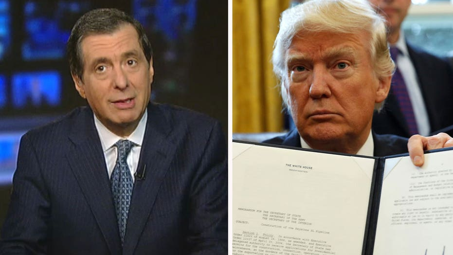 Kurtz: Media 'war' overshadows Trump's early moves