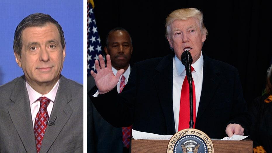 Kurtz: Trump criticized on timing, not substance