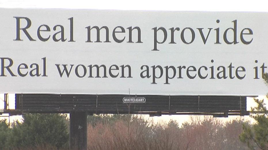 Controversial billboard turns heads in North Carolina