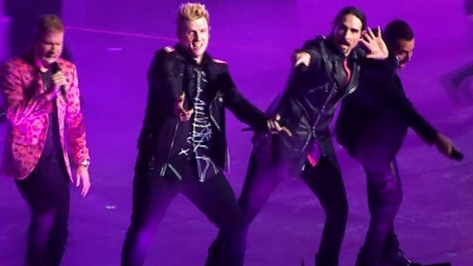 Backstreet Boys headline concert series in Las Vegas