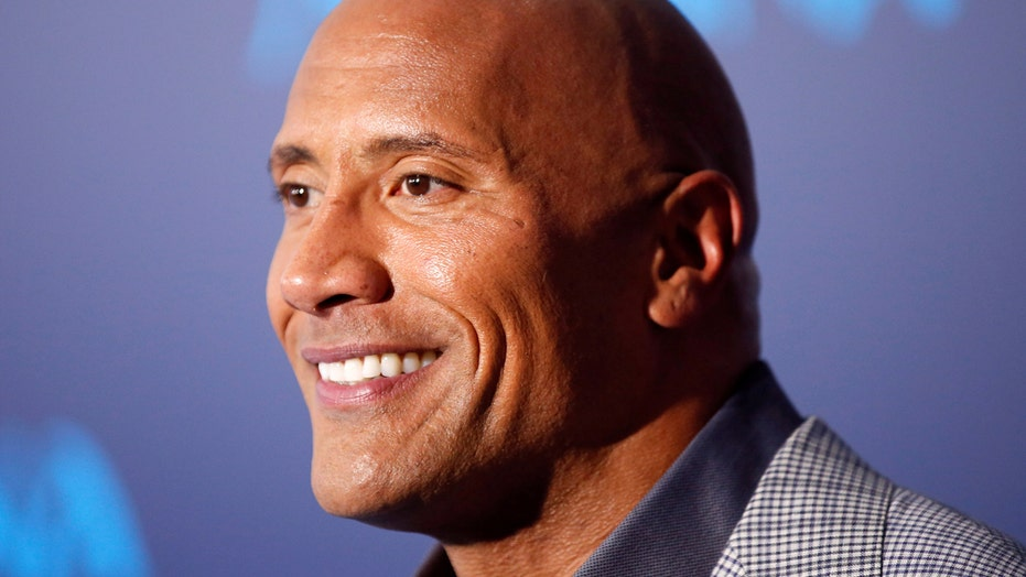 "Dwayne ""The Rock"" Johnson, the wrestler turned international action star."