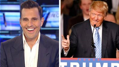 Bill Rancic, the first winner of Donald Trump's 'The Apprentice' goes 'On the Record' to discuss the billionaire's run for president and his new venture that hopes to make a small businessman's dreams come true during Super Bowl