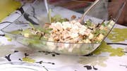 How to cook grilled cauliflower salad