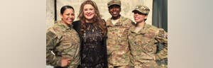 Gold Star wife makes journey to Afghanistan, shares her story on 'America's News HQ'