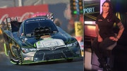 Fox Car Report: Kalitta Motorsports Funny Car racer Alexis Dejora looking for the win at the NHRA Summernationals in Englishtown, NJ