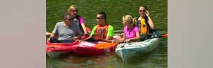 Kayaking for a great cause on the Cuyahoga River